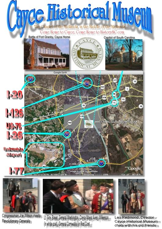 Cayce Historical Museum, Come Home to History at HistorySC.com